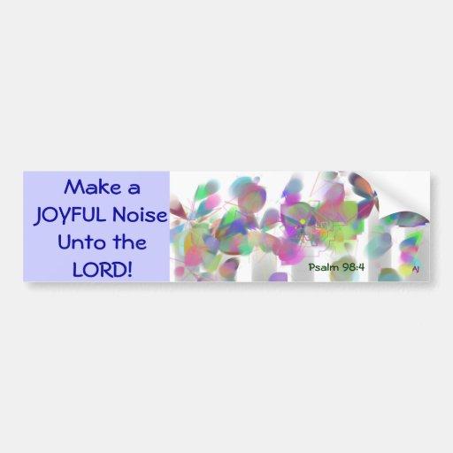 Make a Joyful Noise Bumper Sticker