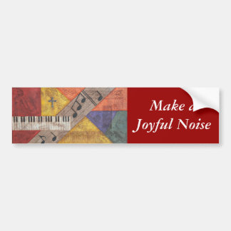 Make a Joyful Noise Bumper Sticker