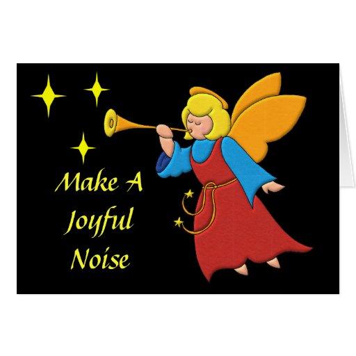 Make A Joyful Noise Greeting Cards