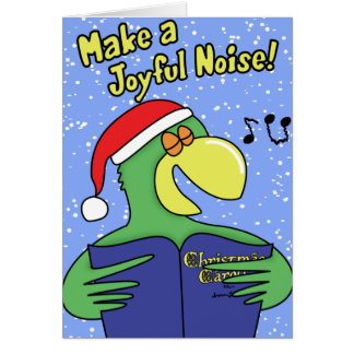 Make a Joyful Noise Christmas Card