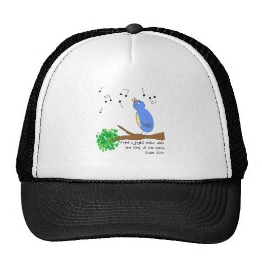 Make a Joyful Noise Mesh Hats