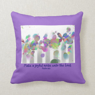 Make a Joyful Noise pillow