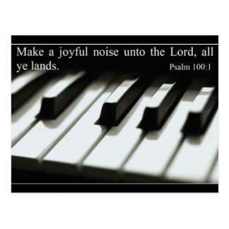 Make a Joyful Noise - Postcard - Customized