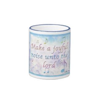 Make a Joyful Noise Ringer Mug