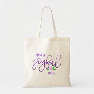 Make a Joyful Noise Tote Bag