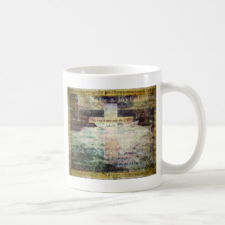Make a joyful noise unto the LORD - Bible Verse Coffee Mug