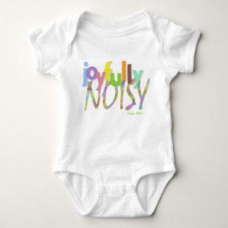 Make a joyful statement baby bodysuit