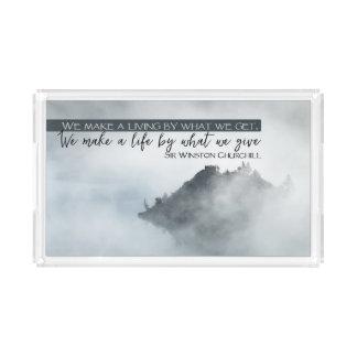 Make A Life Acrylic Tray