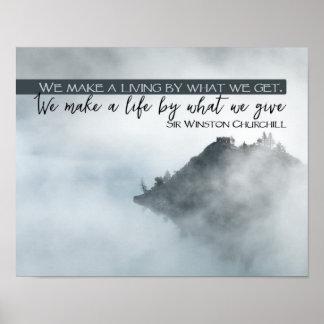 Make A Life Poster