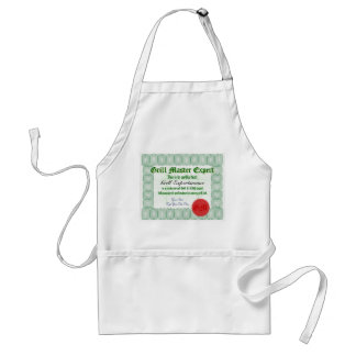 Make a personal Grill Master Certificate Apron