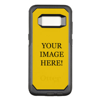 Make A Serious Impression! Add Your Own Image Here OtterBox Commuter Samsung Galaxy S8 Case