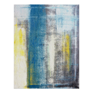 'Make a Statement' Abstract Art Poster Print