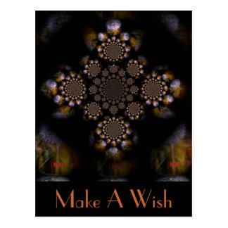 Make A Wish 2 Postcard