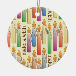 """Make a Wish"" Birthday Candles Ornament"