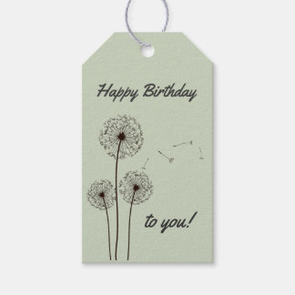 Make a Wish Birthday Gift Tags