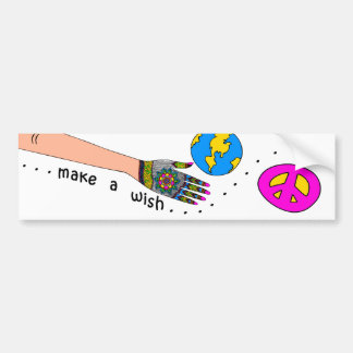 MAKE A WISH... BUMPER STICKER