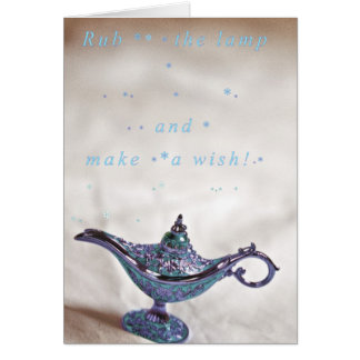 Make a wish! card