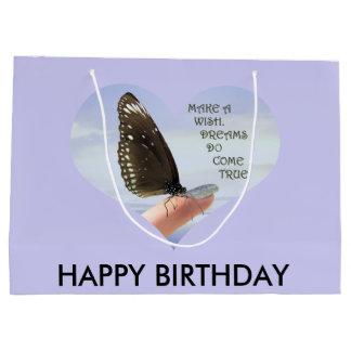 Make a wish Dreams come true Large Gift Bag