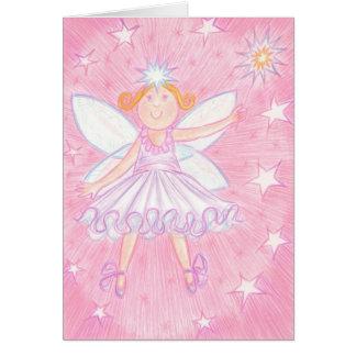 Make a Wish Good Luck greetings card