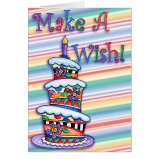 Make A Wish - Greeting Card