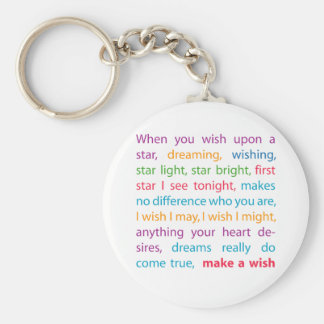 Make a Wish Key Ring