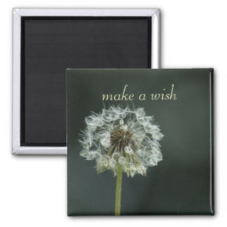 make a wish square magnet