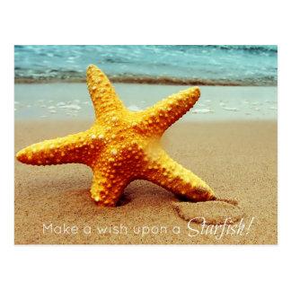 Make a Wish Post Card