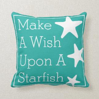 Make A Wish Upon A Starfish Cushions