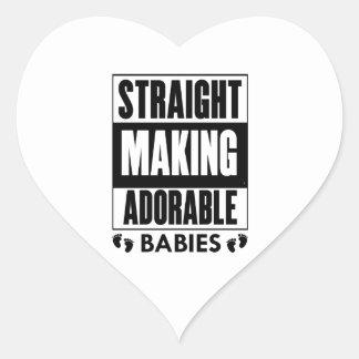 Make Adorable Babies Heart Sticker