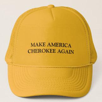 MAKE AMERICA CHEROKEE AGAIN TRUCKER HAT