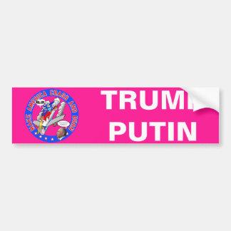 Make America Crash & Burn Bumper Sticker