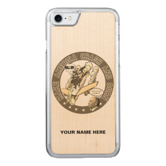 Make America Crash & Burn Carved iPhone 8/7 Case