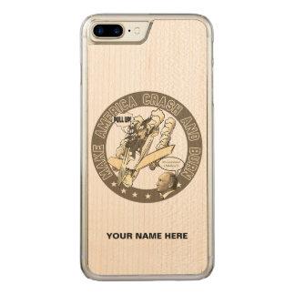 Make America Crash & Burn Carved iPhone 8 Plus/7 Plus Case