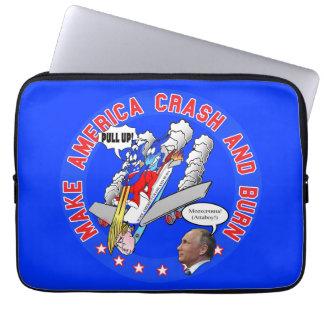 Make America Crash & Burn Laptop Sleeve