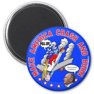 Make America Crash & Burn Magnet