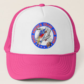 Make America Crash & Burn Trucker Hat