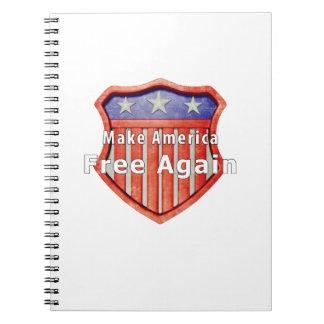 Make America Free Again Notebooks