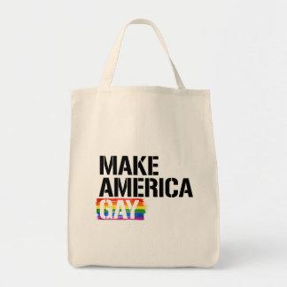 Make America Gay - - LGBTQ Rights -  Tote Bag