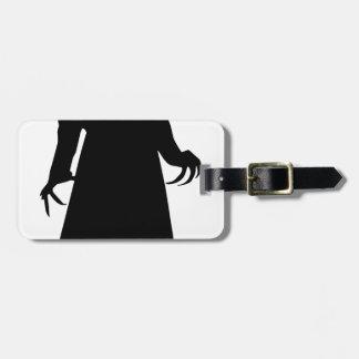 make america goth again luggage tag