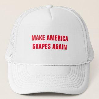 MAKE AMERICA GRAPES AGAIN TRUCKER HAT