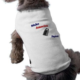Make America Grate Sleeveless Dog Shirt