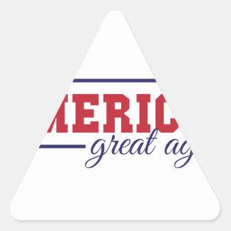 Make America Great Again Triangle Sticker
