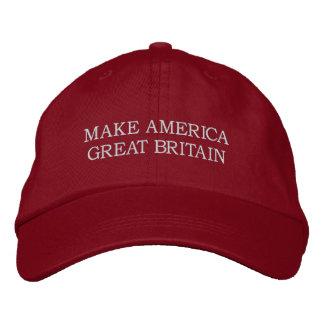 """""""Make America Great Britain"""" Hat Baseball Cap"""