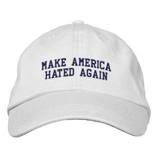 MAKE AMERICA HATED AGAIN EMBROIDERED CAP