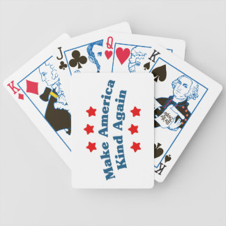 Make America Kind Again Bicycle Playing Cards