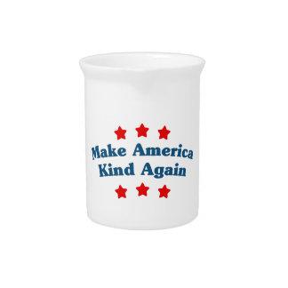 Make America Kind Again Pitcher