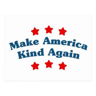 Make America Kind Again Postcard