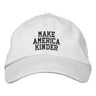 'Make America Kinder' hat Embroidered Hats