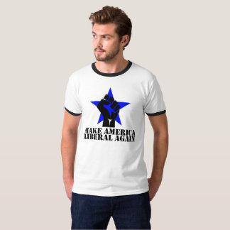 Make America Liberal Again T-Shirt- Black Letters T-Shirt