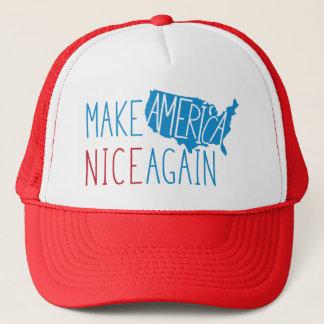 Make America Nice Again Trucker Hat